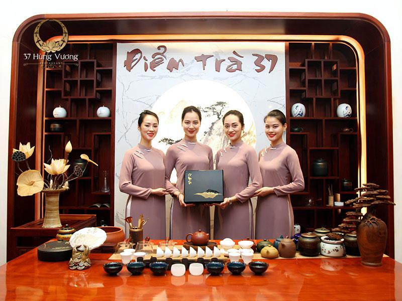 Điểm trà 37 – Không gian văn hóa trà Việt