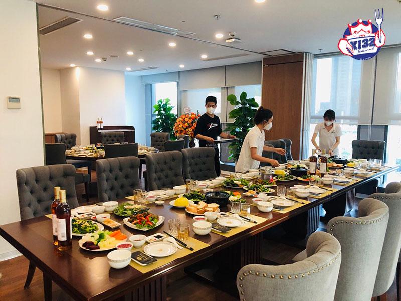Nhà hàng X132 - Đơn vị cung cấp dịch vụ tổ chức tiệc tại nhà chuyên nghiệp